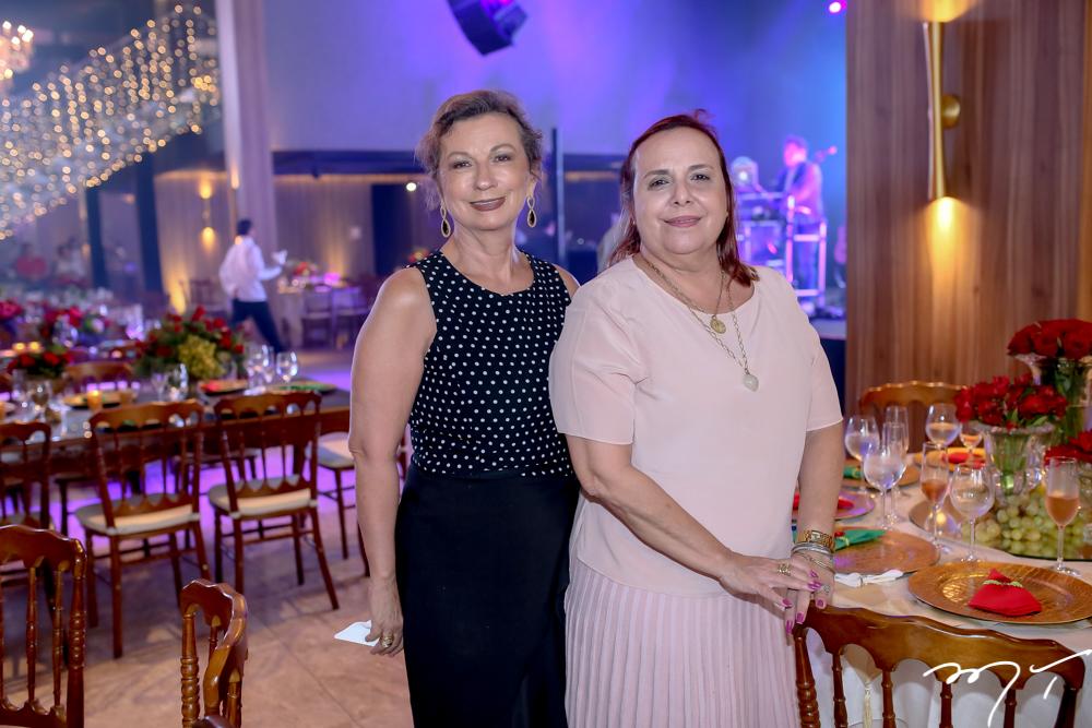 Conceição Azevedo e Monique Rodrigues