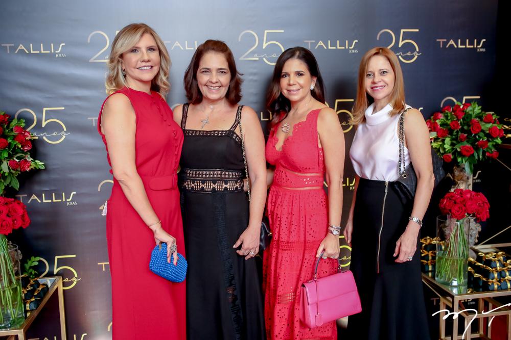 Georgia Fontes, Gina, Maria Lúcia Negrão e Claudiane Juaçaba
