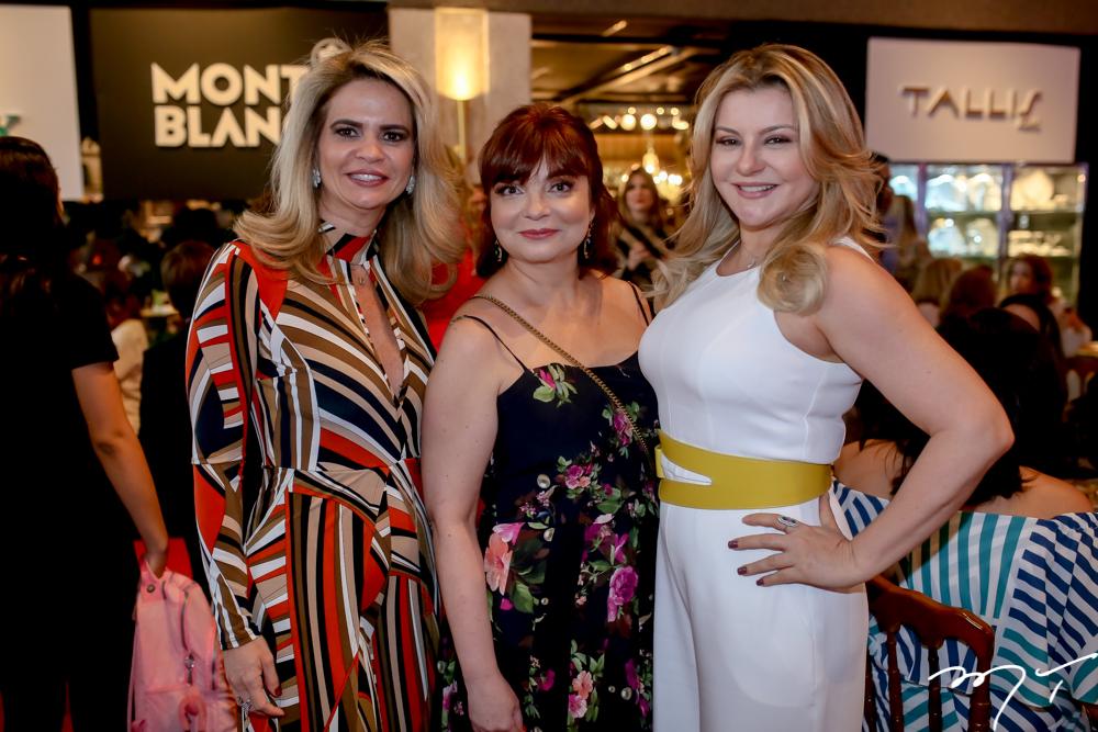 Germana Cavalcante, Chris Leite e Silvana Guimarães