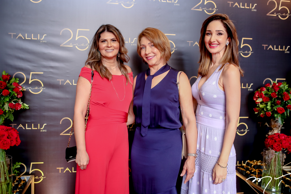 Michele Aragão, Francisca Nogueira e Sarah Gondim