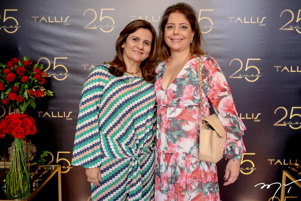 Nájla Corrêa e Cláudia Gradvohl