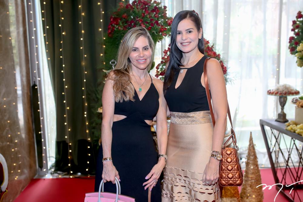 Sandra Rocha e Valéria Arrais