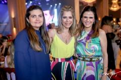 Ana Elise Franco, Karla Nogueira e Niedja Bezerra