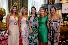 Antonia Robert, Carol Siqueira, Carmen Pompeu, Gorete Arruda e Carla Siqueira