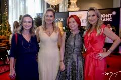 Celina Frota, Talyzie Mihaliuc, Maria de Jesus Frota e Talynie Mihaliuc
