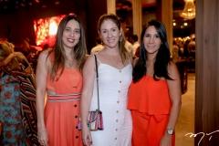 Dulce Fujita, Gabriela Barros e Daniela Castelo Branco
