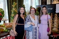 Isabel Sales, Helena Weyne e Priscila Leite