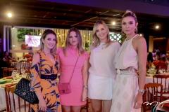 Lia Bastos, Carol Ciarlini e Elisabeth Vilas Boas e Julia Marques