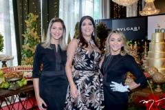 Paula Garcia, Elisa Oliveira e Val Cavalcante