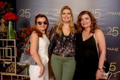 Sônia Praça, Danielle Pinheiro e Denise Arruda