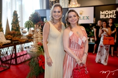Talyzie Mihaliuc e Daniela Barreira