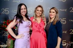 Valeska Mendonça, Talynie Mihaliuc e Luciana Simões