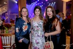 Waleska Ferreira, Amanda Aragão e Gabrielle Bezerra