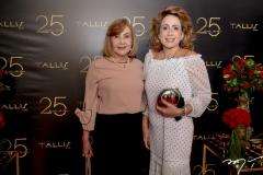 Zulene Bezerra e Ana Flávia Carvalho