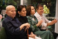 Roberto Cláudio Bezerra, Maria das Graças Bezerra, Nadja Parente e Jorge Parente