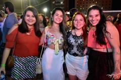 Ana Flávia Alencar, Márcia Mendes, Bruna Ellen e Raquel Alencar