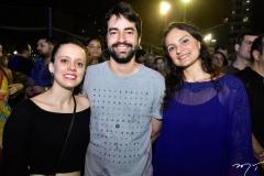 Ana Lívia Barros, Victor Studart e Camila Lima