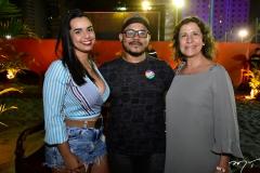Beatriz Vieira, Anderson Retrofa e Liege Xavier