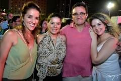Deborah de Araújo, Thais Cruz, Marcos Amorim e Manu Feitosa