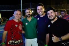 Evaldo Lima, Roni Inácio, Paulo Henrique e Gabriel Rochinha