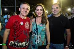 Evaldo e Mariza Lima e Idilvan Alencar