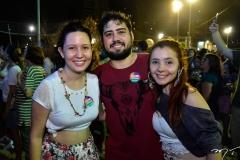 Isabela Lima, Carran Gadelha e Mariana Albuquerque