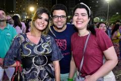 Leticia Soares, Marcos e Camila Herculano