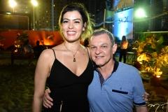 Natalia Herculano e José Sarto