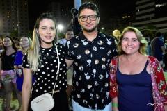 Rubia Rocha, Rubens Batista e Debora Nunes