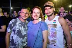 Valdecir Rebolças, Carina Marques e Roberto Martins