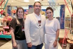 Adriana Loureiro, Raphael Joca e Claudiana Loureiro