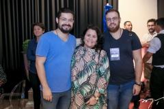 Diego Costa, Ivana Castro e Nicolas Martins
