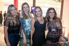 Eveline Catunda, Amanda Timbó, Cintia D'Alencar e Ana Cristina Pinto