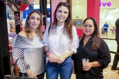 Fernanda Arrais, Paola Macedo e Claudineia Oliveira