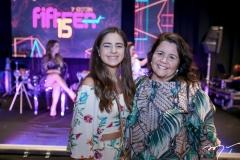 Glorinha de Azevedo e Ivana Castro