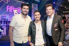 Itaquê Figueiredo, Ivo Brown e Gustavo Serpa