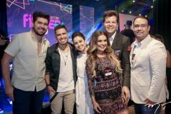 Itaquê Figueiredo, Ivo Brown, Claudiana Loureiro, Ana Cristina Pinto, Gustavo Serpa e Raphael Joca