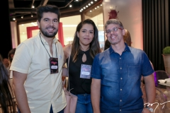 Itaquê Figueiredo, Fernanda Dantas e Vladson Lelis