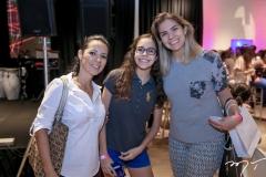Luciane Nogueira, Maria e Elaine de Morais
