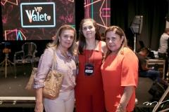 Lucilia Loureiro, Isabela Brasil e Virginia Morais