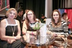 Maria Graças Monte Coelho, Fátima Cladas e Eliane Correia