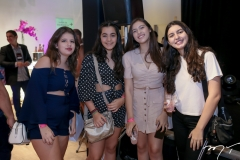 Nelina Barrocas, Vanessa Gomes, Clara Soares e Thais Fontenele