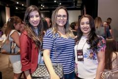 Vanessa Rocha, Ana Oquendo e Catrine Sousa