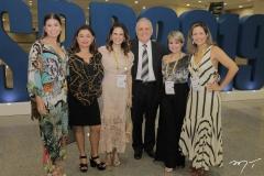 Mailze Campos, Rejane Abreu Vieira, Niedja Bezerra, Walber Pinto Vieira, Kirla Poti e Lyziane Ramos