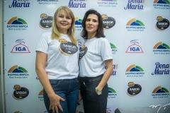 Marcilene Pinheiro e Melissa Soares