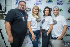 Paulo Rubens, Marcilene Pinheiro, Melissa Soares e Igor Carneiro