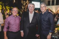 André Montenegro, Roberto Macedo e Severino Ramalho Neto