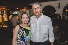 Cibelle e José Hissa