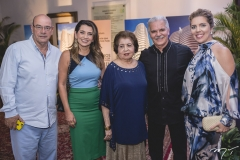 Fernando Travessoni, Márcia Travessoni, Edyr Rolim, Pio Rodrigues e Ticiana Queiroz Rolim