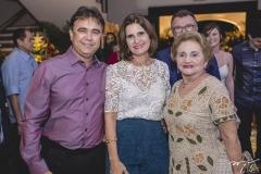 Gilberto Costa, Daniela Costa e Marlene Cabral